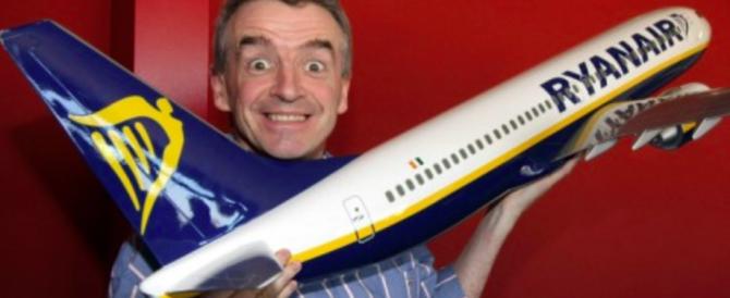 Ryanair contro Renzi: indisponibili a pagare i costi degli ex-piloti Alitalia
