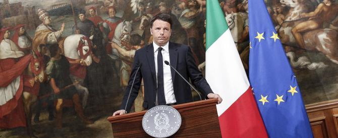 Il punto –  Ora il centrodestra non si faccia trivellare da Renzi