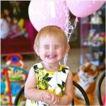 La piccola Mia ha un anno.(Foto Instagram)