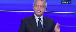 Mentana perde le staffe e critica Renzi: «Basta attacchi alle tv» (video)