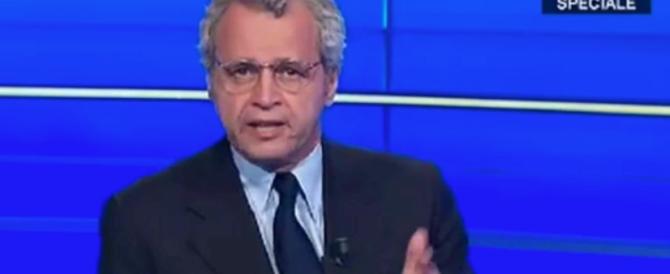 L'attacco di Mentana a Renzi: ora basta, deve smetterla di… (Video)