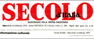 Elezione del nuovo comitato di redazione al Secolo d'Italia