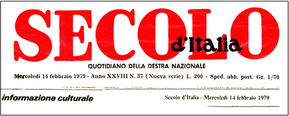 Elezione del nuovo comitato di redazione al secolo d for Redazione italia
