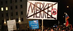 """AfD: """"La gente vota noi perchè è stufa della Merkel. Sui migranti ha fallito"""""""