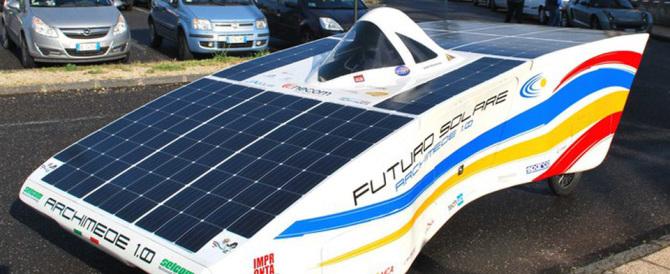 Si chiama Archimede: è un prototipo di auto elettrica prodotto a Catania