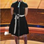 Così Arisa al suo esordio a Sanremo. (Foto Instagram)