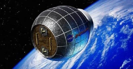 Una casa gonfiabile nello spazio, primo passo verso la nascita di città marziane