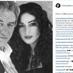 Eccola con Robert De Niro. (Foto Instagram)