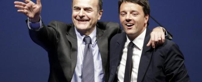 Bersani: «Pd desertificato, Renzi si è circondato di yesmen»