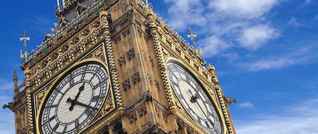 Il Big Ben ferma le lancette per restauri: sarà fermo fino al 2020