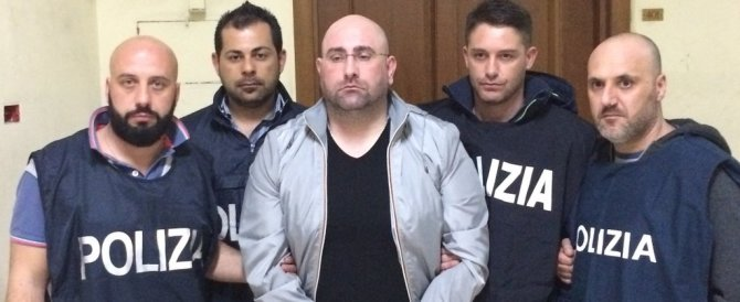 Boss latitante della Camorra catturato mentre guardava Inter-Napoli