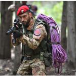Un carabiniere impegnato in missione. (Foto Instagram)