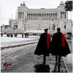 Carabinieri a Roma. (Foto Instagram)