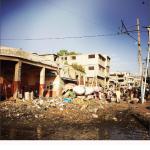 Questa è la situazione ancora oggi ad Haiti. La foto è di Martina Colombari. (Foto Instagram)
