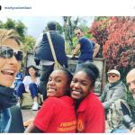 L'ex Miss Italia sta facendo volontariato. (Foto Instagram)