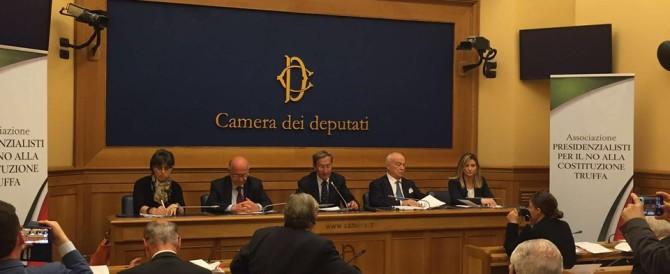 Riforma truffa di Renzi, nasce l'associazione presidenzialisti per il No