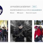 La pagina dell'Arma su Instagram. (Foto Instagram)
