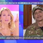 L'attore ha annunciato di essere guarito nel domenicale di Barbara D'Urso. (Foto Instagram)
