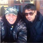 L'attore vive nella comunità dei volontari del Capitano Ultimo. (Foto Instagram)
