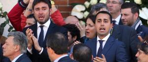 Anche Bossi al funerale di Casaleggio. Fischi per la delegazione Pd