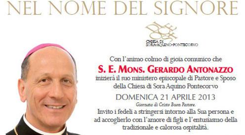 Indagato per molestie sessuali monsignor Antonazzo, vescovo di Cassino