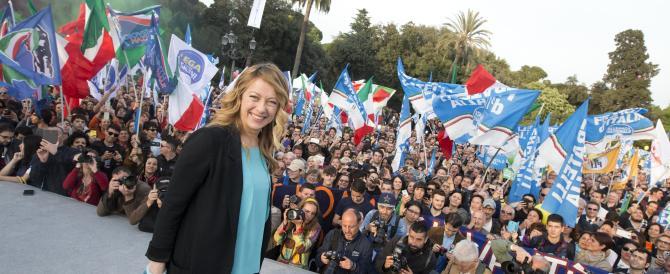 Giorgia Meloni: il vecchio centrodestra non c'è più, occorre qualcosa di nuovo