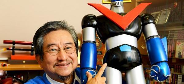 Go Nagai a Roma scopre che Jeeg Robot ha messo radici in borgata
