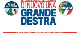 """Una """"costituente"""" per la nuova destra: a Orvieto due giorni di dibattiti e progetti"""