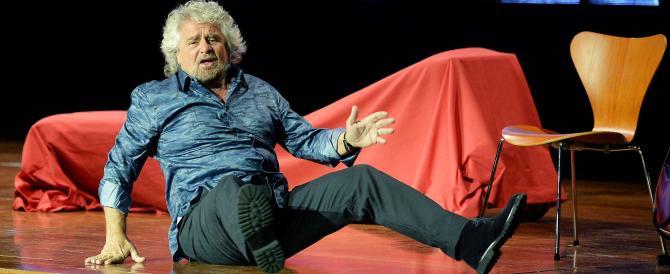 Grillo rottama Grillo: il tour del comico-politico parte con un mezzo flop