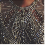 Questa è la seconda foto pubblicata dall'attrice; un vestito trasparente... (Foto Instagram)