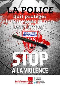 manifesto polizia francese