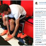 Sei mesi di stop per il calciatore.  (Foto Instagram)