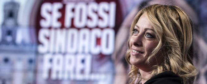Meloni: «Ci sono ancora margini per un candidato unico del centrodestra»