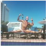 Giovanni Montis, 33enne sardo, culturista e candidato a sindaco di Capoterra. (Foto Instagram)