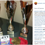 Ecco i trofei già conquistati. (Foto Instagram)