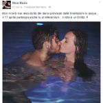 """""""Le trivellazioni subacque..."""". Ecco l'appello al voto di Nina Moric, direttamente dal suo profilo Facebook."""