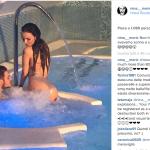 Nina e l'ex moglie di Fabrizio Corona. Finora non era sembrata molto interessata alla politica. (Foto Instagram)