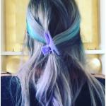 Cinquanta sfumature di azzurro.  (Foto Instagram)