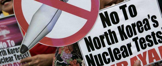 """Il coreano Kim Jong-un minaccia attacchi nucleari """"contro gli imperialisti Usa"""""""