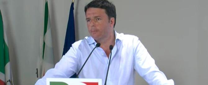 Renzi ammette: «Dato molto difficile. Ma la legge elettorale non si cambia»