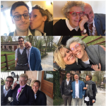 Con i famigliari. (Foto Instagram)