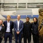 I due principini sono attivissimi sui social. Eccoli in una foto spiritosa.  (Foto Facebook, The British Monarchy)