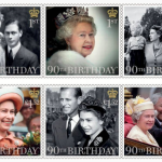Questi i francobolli speciali della Royal Mail.  (Foto Facebook, The British Monarchy)