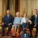 Quattro generazioni di reali insieme.  (Foto Facebook, The British Monarchy)