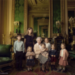 La foto è stata scattata dal fotografo della Royal Mail britannica.  (Foto Facebook, The British Monarchy)