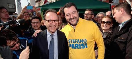 Milano, Salvini: «Credo nella vittoria. Di un pelo, ma Parisi ce la farà»