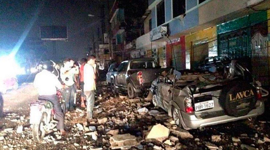 Terremoto in Ecuador: centinaia di vittime, scene di panico (VIDEO)