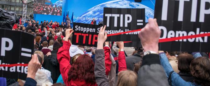 «No al Ttip»: proteste in Germania contro il libero scambio con gli Usa
