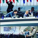 Justin Trudeau è stato il leader mondiale che ha attirato più attenzione e simpatia al summit convocato da Obama. Eccolo col presidente americano. (Foto Instagram)