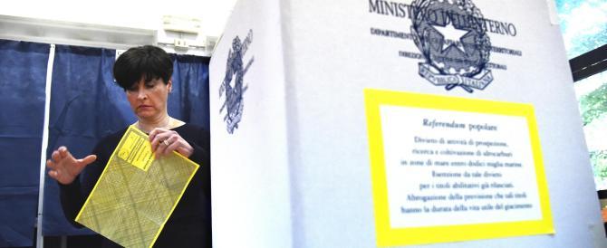 Referendum, ha votato il 32,03%. Quorum lontano. Ma 15 milioni alle urne